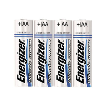 AA Energizer® Ultimate Lithium Batteries